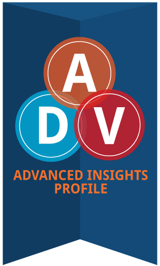 advanced insights profile logo