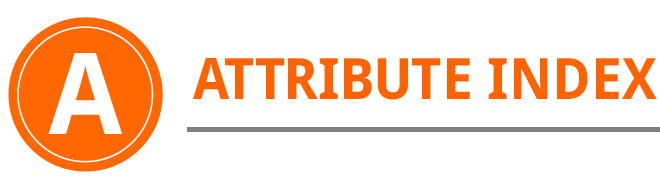 Attribute index profile insights